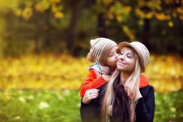 ママと息子
